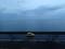 青島と遠景にかすむ周防大島