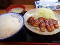 [東京]どん八食堂 トンテキ定食