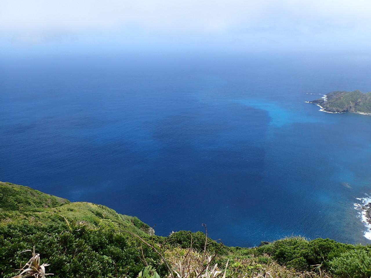 青い珊瑚礁