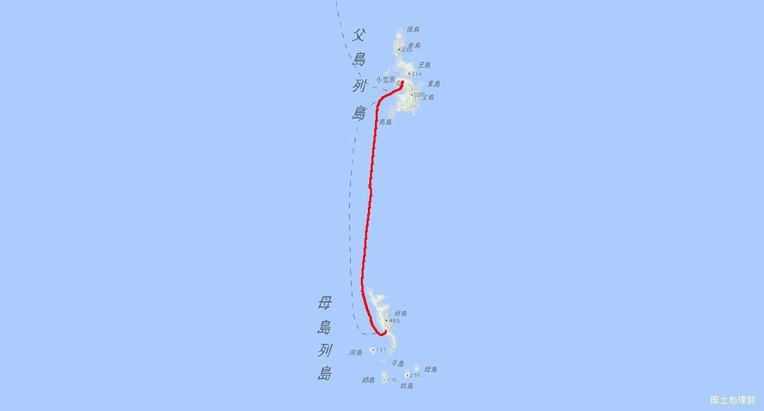 父島-母島航路