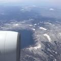 十和田湖・右上に岩木山