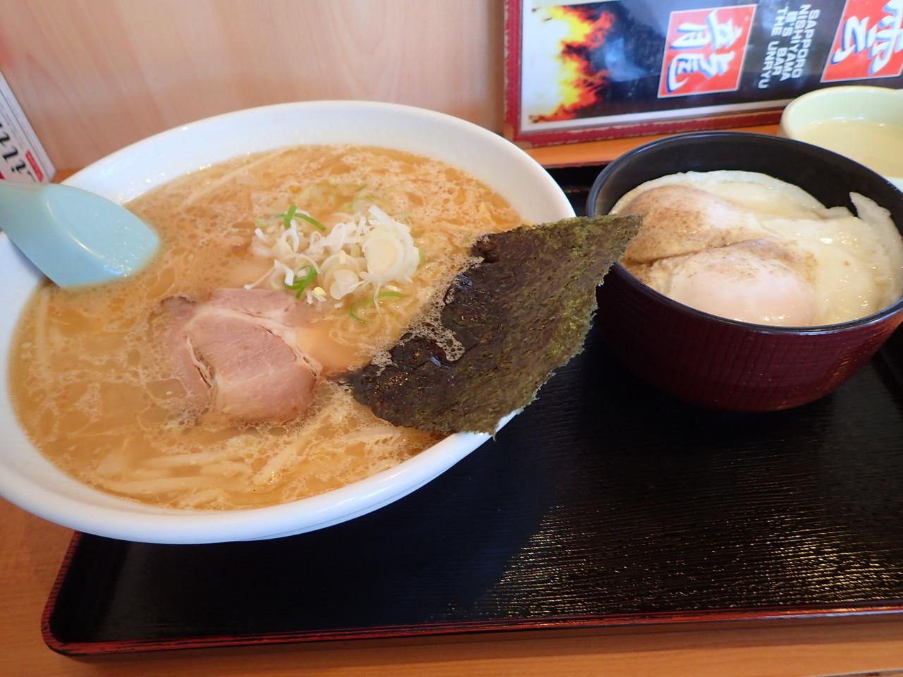 みそ+目玉丼