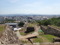 [鳥取][鳥取城]天球丸から菱櫓を見る