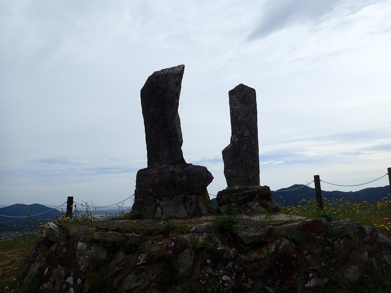 山中鹿之介記念碑