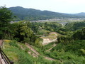 [島根][月山富田城]廓構造を俯瞰@七曲り
