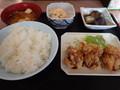 夕食@日の出食堂