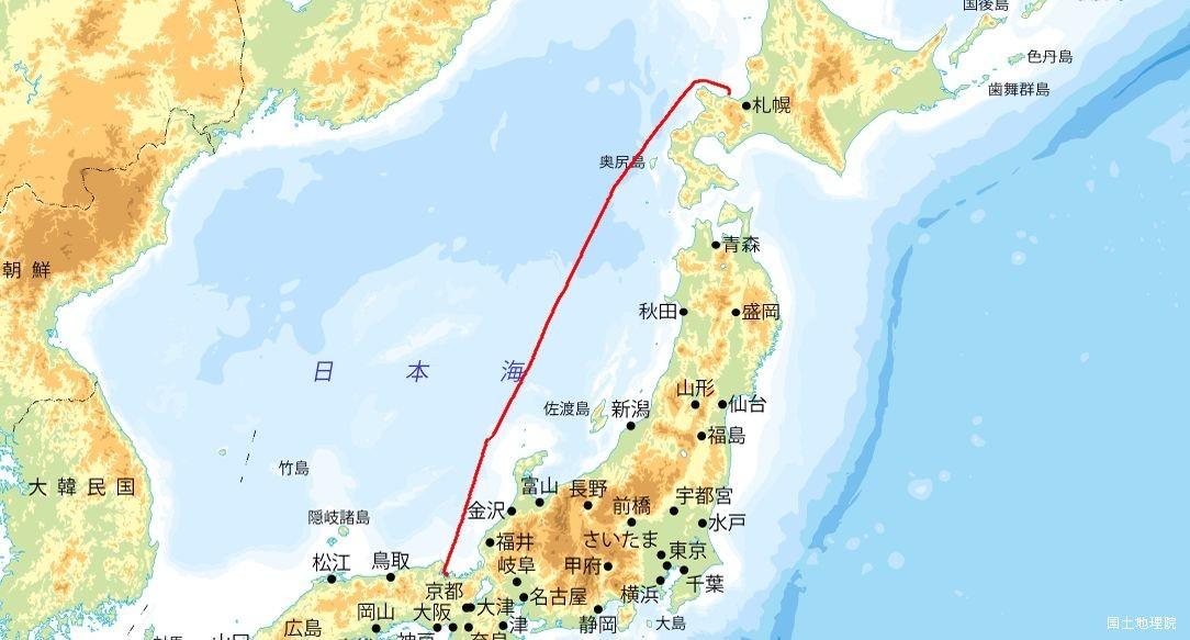 小樽-舞鶴航路