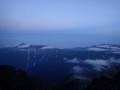 [長野][槍ヶ岳]岐阜側の山並み