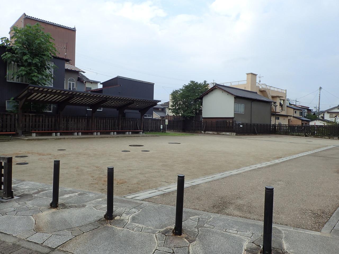 中山道大井宿広場