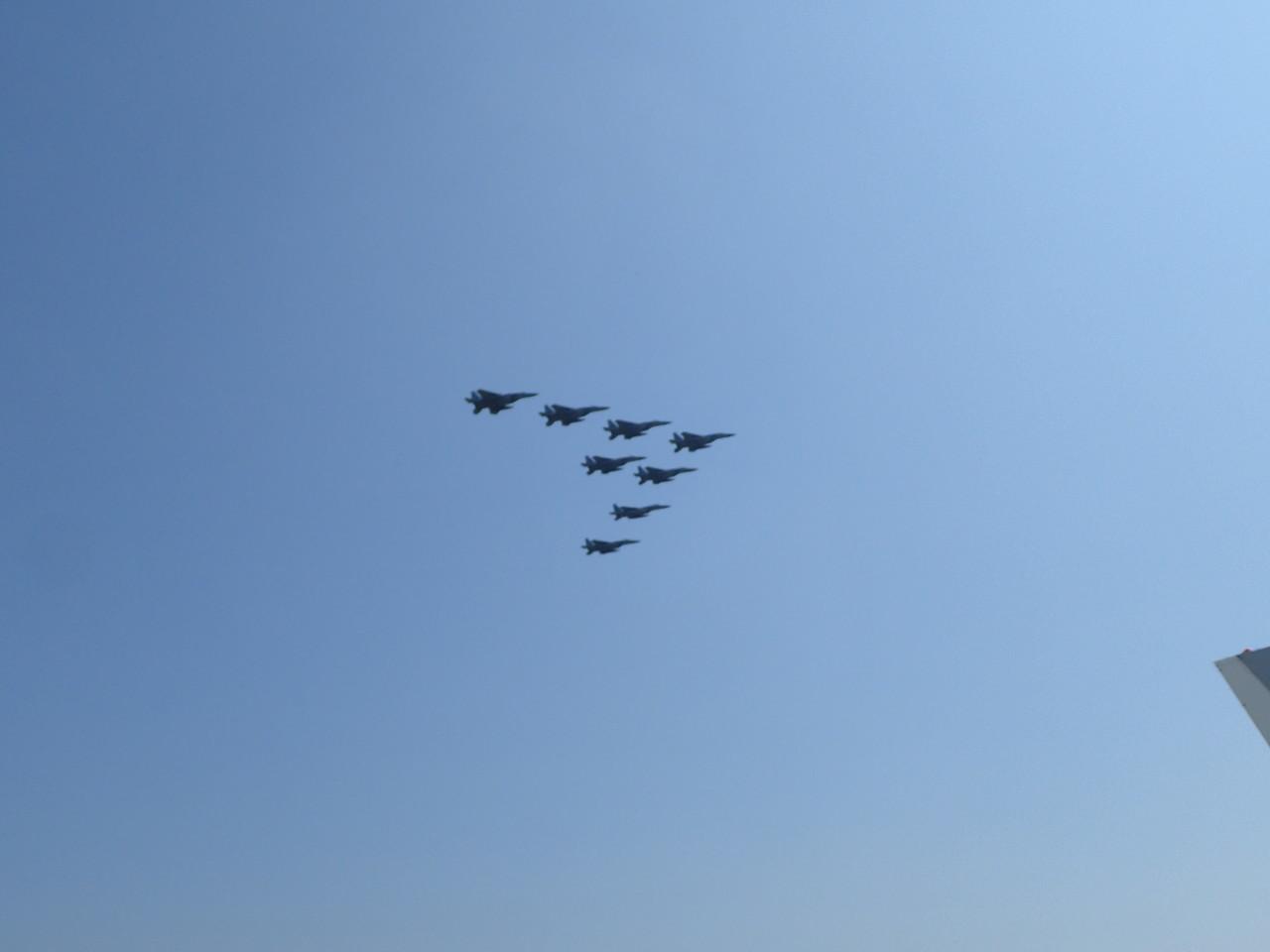 F-15編隊