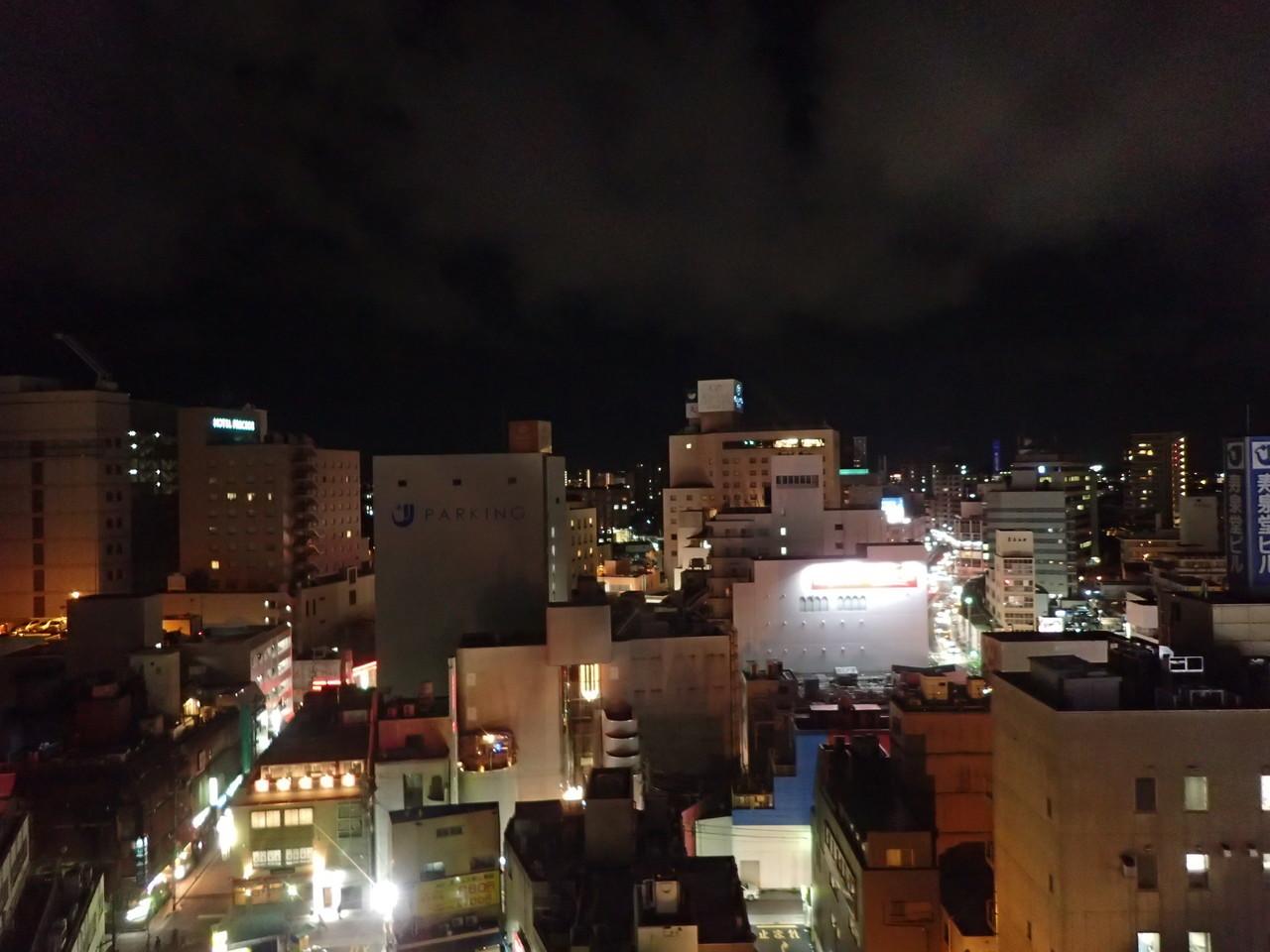 郡山の夜景