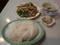 豚肉とニラ炒め定食