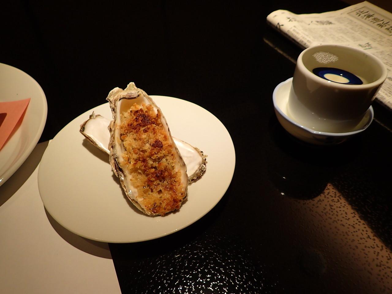 厚岸産かきバター焼き