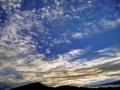 京都新聞写真コンテスト 比叡山と夜明け雲