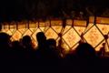 京都新聞写真コンテスト 闇を照らす切子灯籠