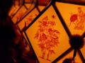京都新聞写真コンテスト 赦免地踊の切子灯籠