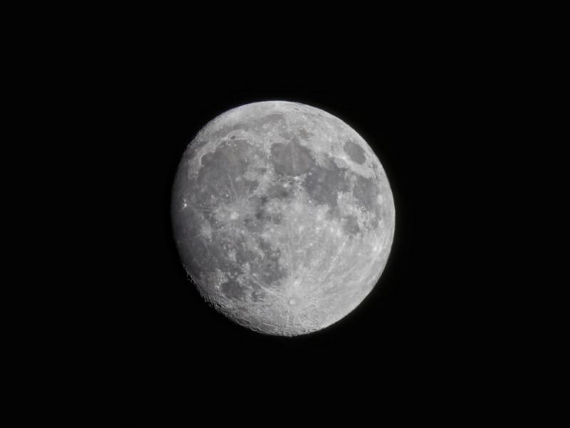 京都新聞写真コンテスト 十三夜の月