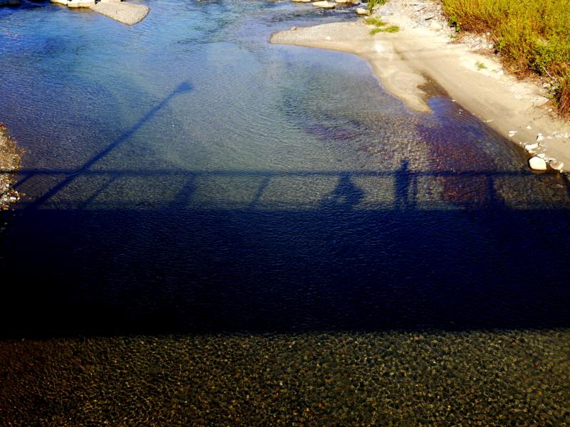 京都新聞写真コンテスト 橋の上から