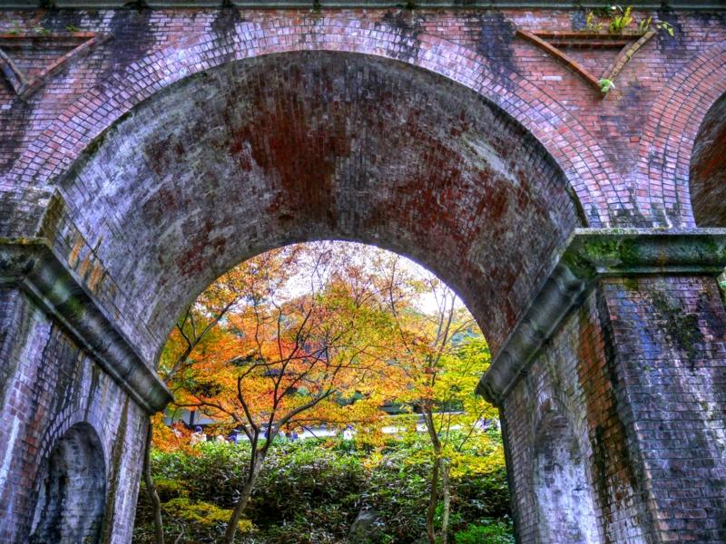 京都新聞写真コンテスト 水路閣の向こう側