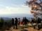 京都新聞写真コンテスト 賑わう大文字山頂
