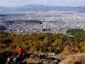 京都新聞写真コンテスト 秋の大文字火床より
