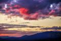 京都新聞写真コンテスト 茜色の夕雲