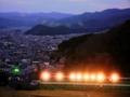 京都新聞写真コンテスト 夜のゴルフ練習場