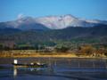 京都新聞写真コンテスト 雪をまとう愛宕山