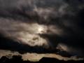 京都新聞写真コンテスト 不穏な日雲