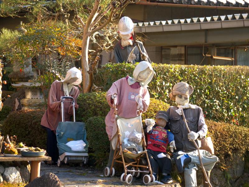 京都新聞写真コンテスト 一家揃ってお出迎え