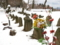 京都新聞写真コンテスト 雪にふるえる石仏