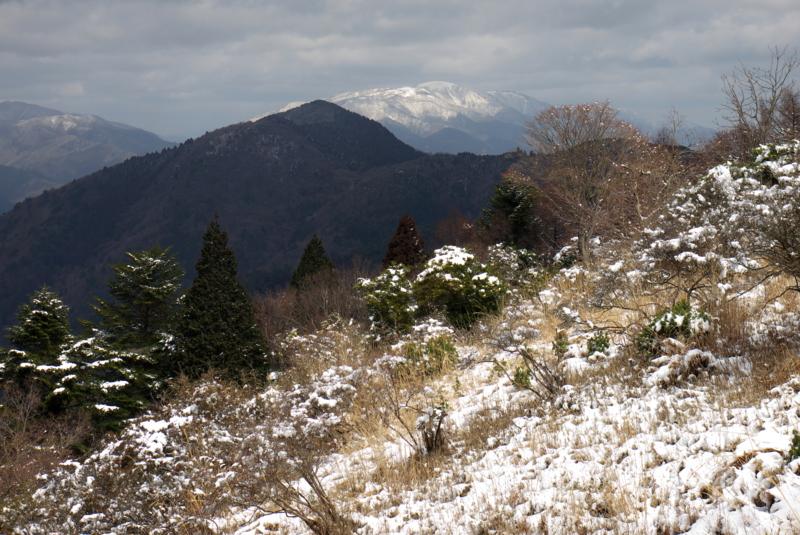 京都新聞写真コンテスト 比叡から望む比良山系