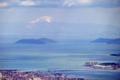 京都新聞写真コンテスト 琵琶湖越しの伊吹山
