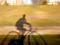 京都新聞写真コンテスト 影と一緒にサイクリング
