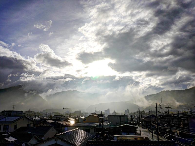 京都新聞写真コンテスト 雨上がりの朝