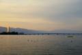 京都新聞写真コンテスト 琵琶湖夕景
