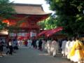 京都新聞写真コンテスト 下鴨神社到着(御蔭祭)