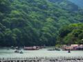 京都新聞写真コンテスト 三船祭で賑わう嵐山