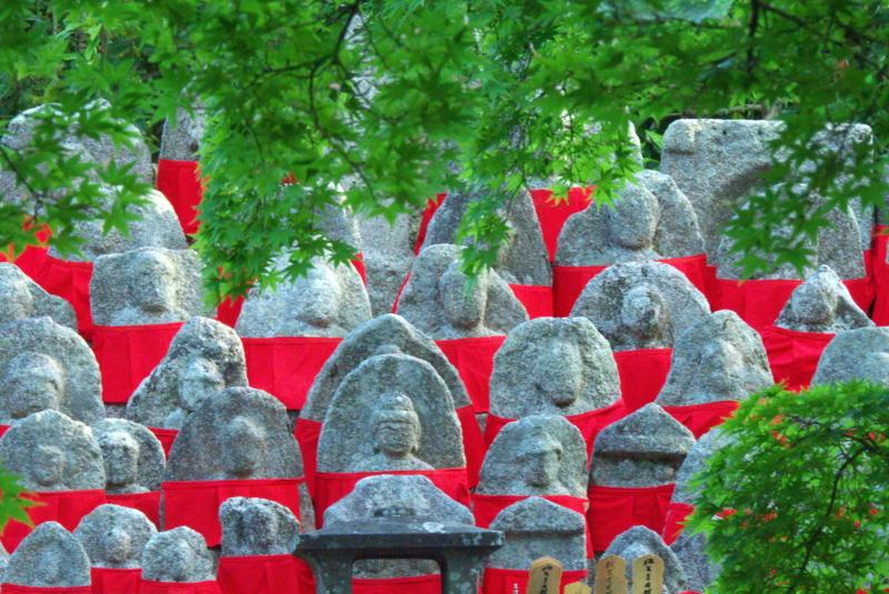 京都新聞写真コンテスト お揃いの赤い前掛け