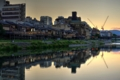 京都新聞写真コンテスト 川床にあかりが灯るころ