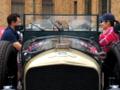 京都新聞写真コンテスト 旧車の語らい