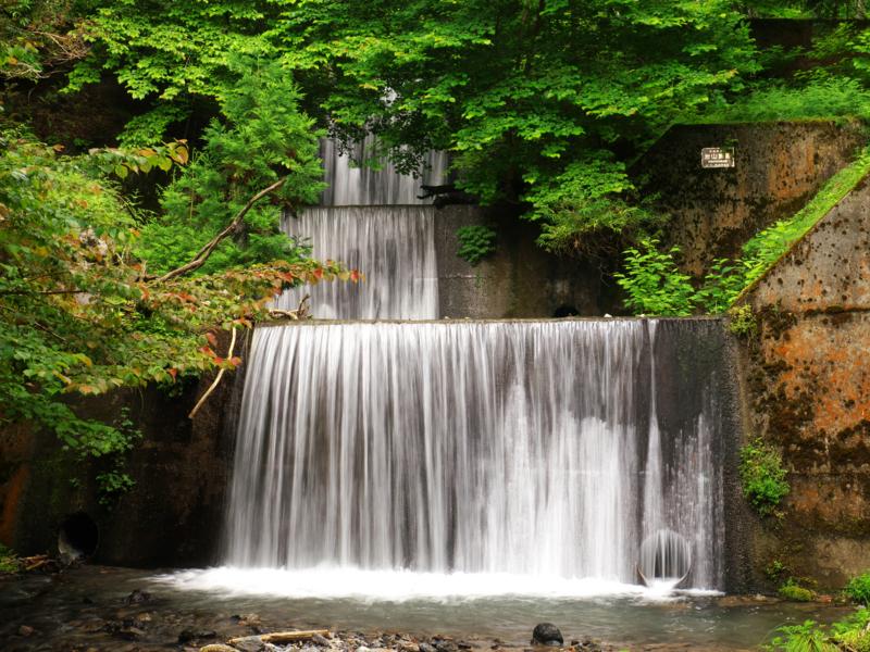 京都新聞写真コンテスト 三段堰堤