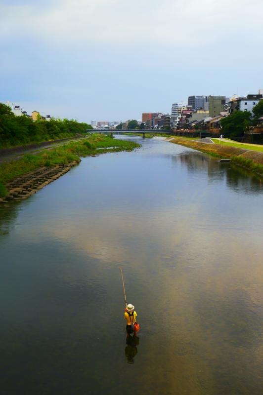 京都新聞写真コンテスト 釣り人