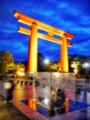 「夜の茶会」岡崎ハレ舞台フォトコンクール特別賞