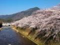 比叡山を望む@高野川