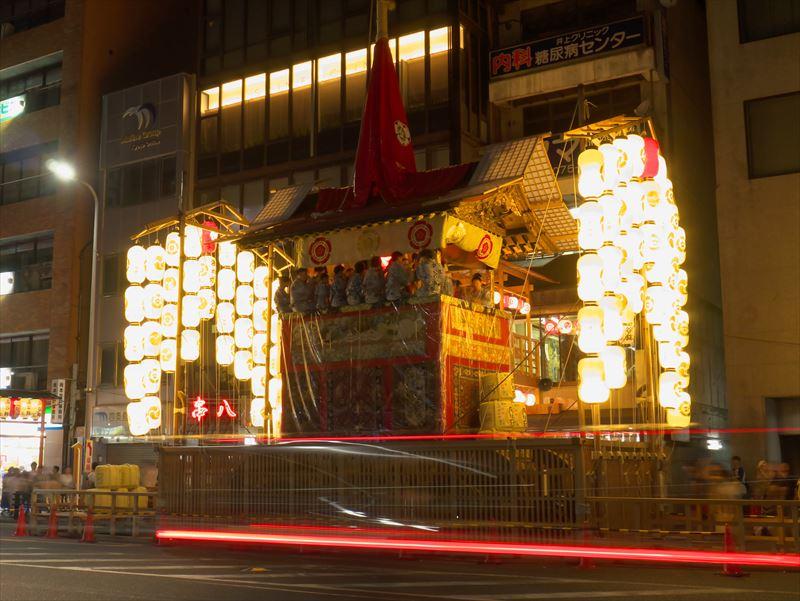祇園祭前祭宵山放下鉾