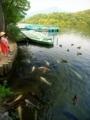 宝ヶ池にて