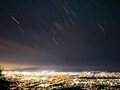 「古都に沈むオリオン座」50回京都新聞写真コンテスト佳作