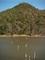 広沢池と遍照寺山