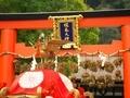 松尾大社神幸祭御輿宮出し(宗像社)